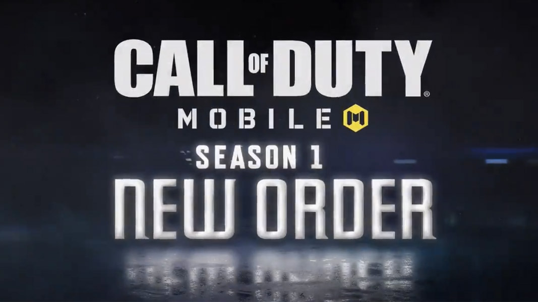 CoD mobile season new order logo