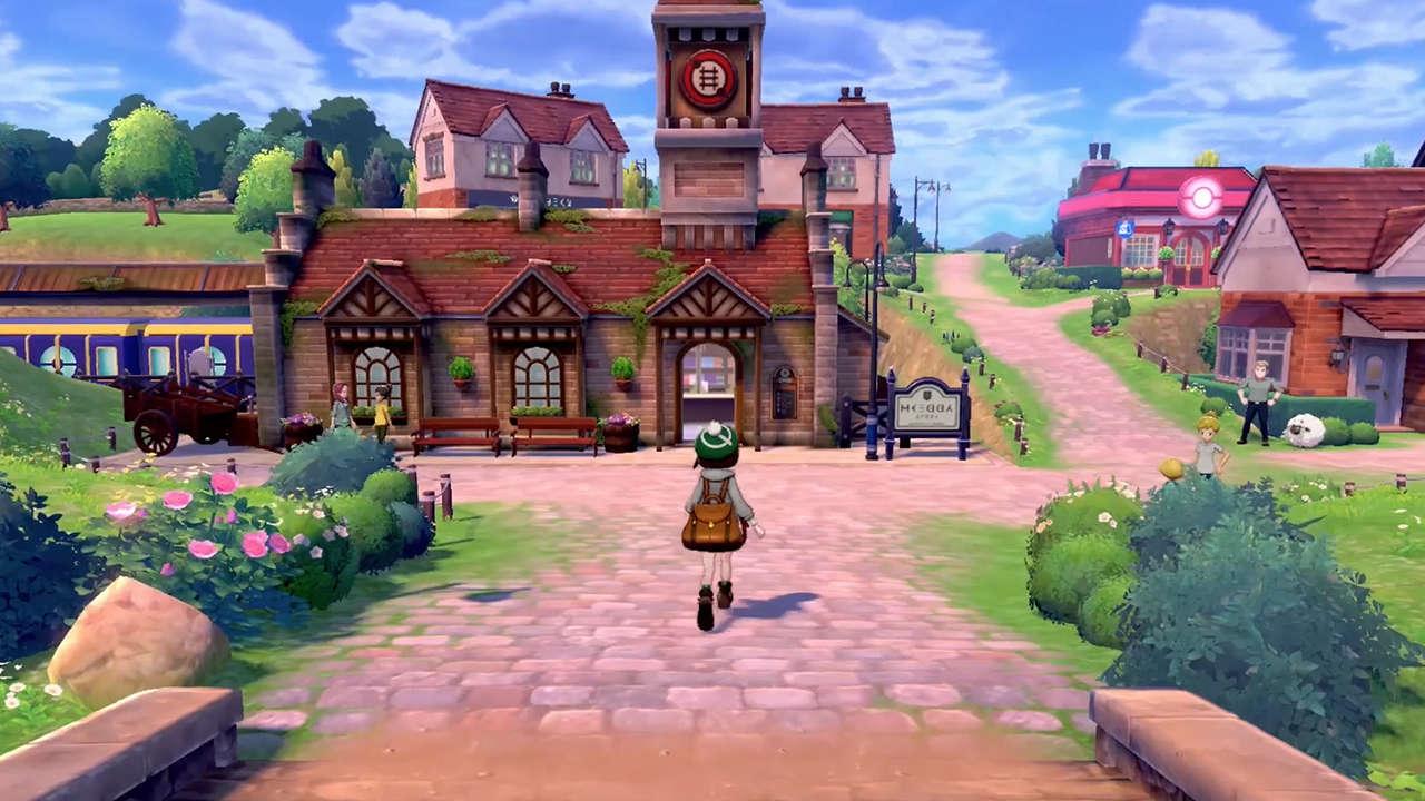 Pokemon Sword & Shield location
