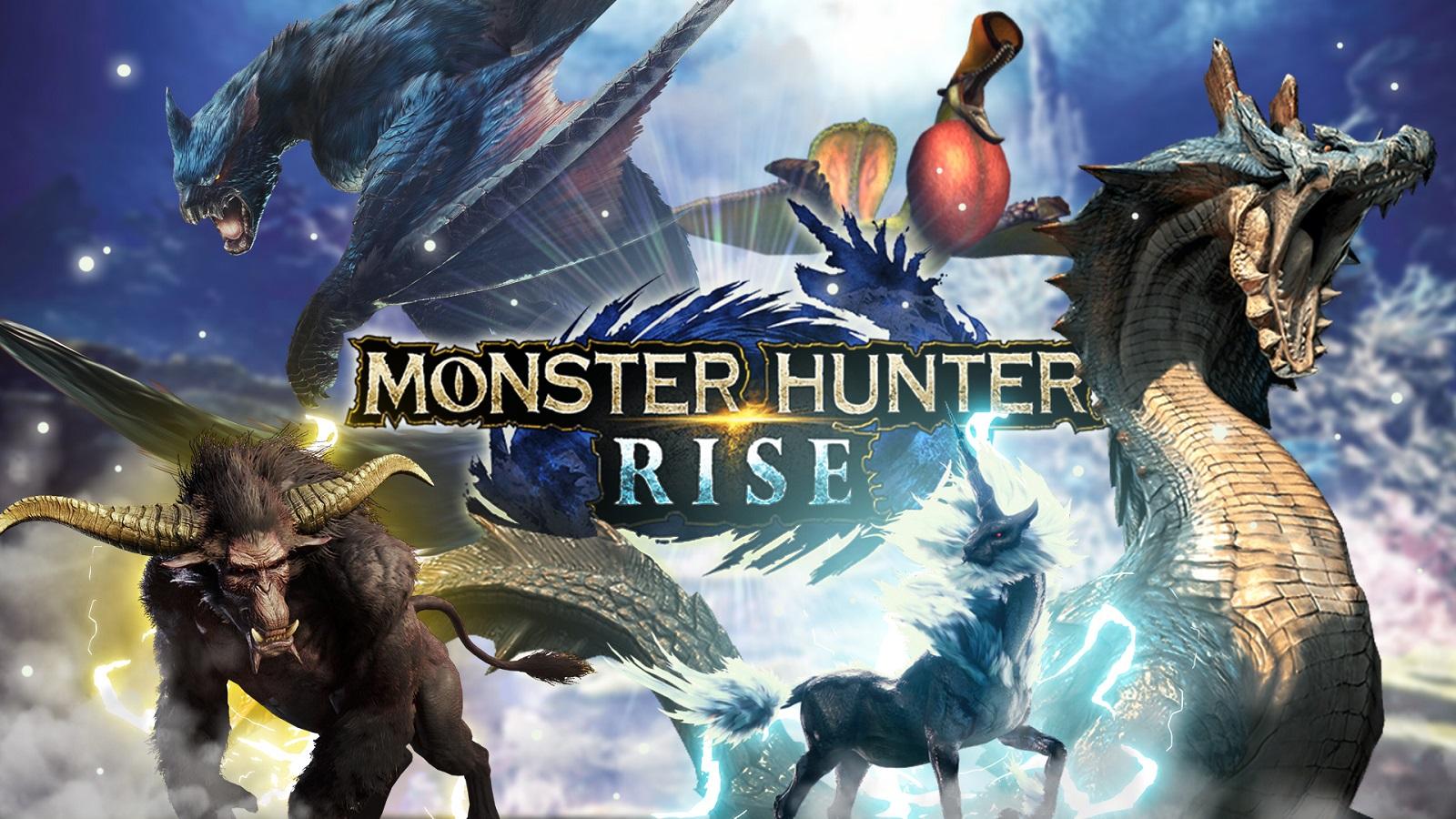 Monster Hunter monsters