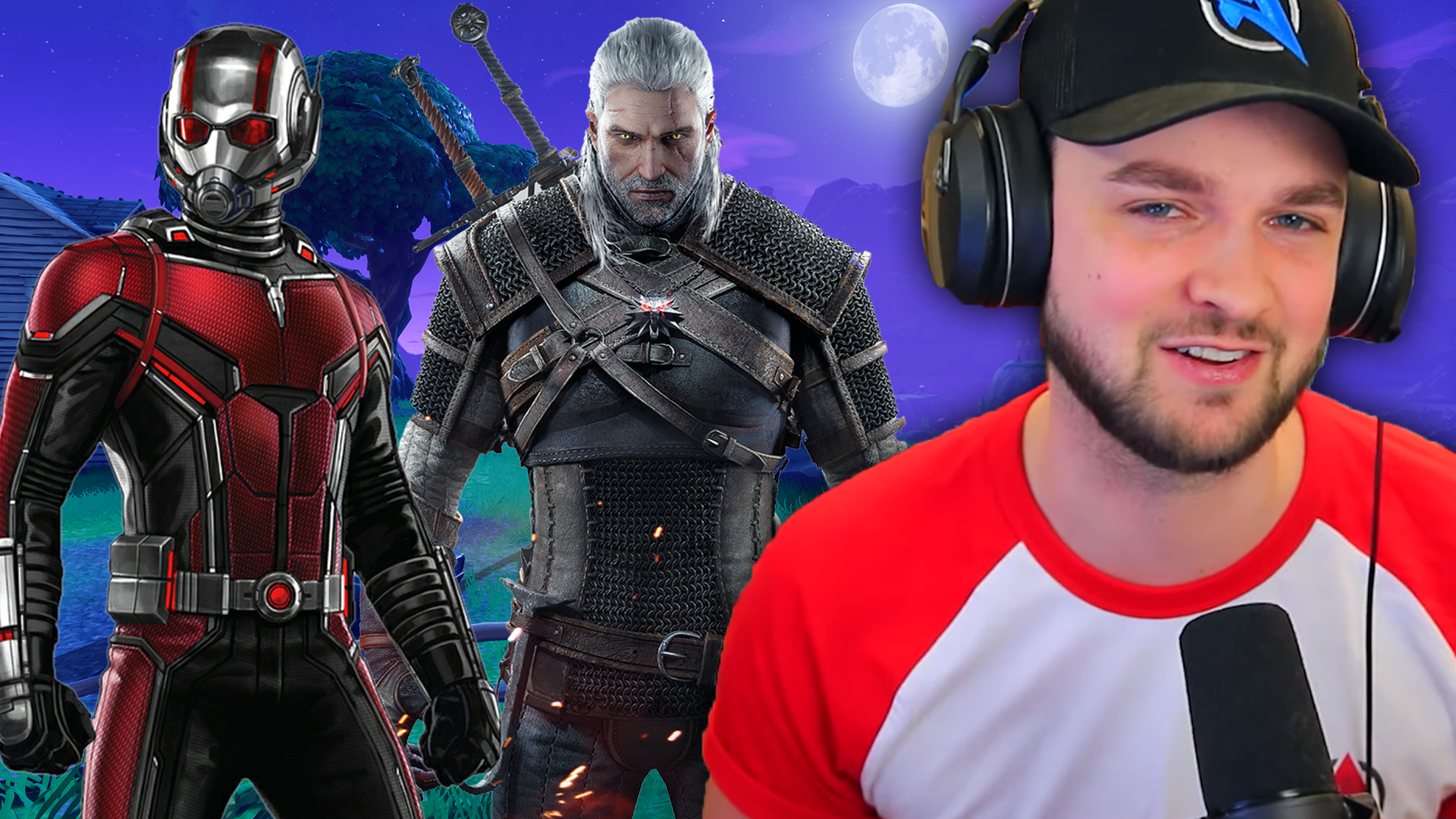 Fortnite Witcher Ant-Man Ali-A