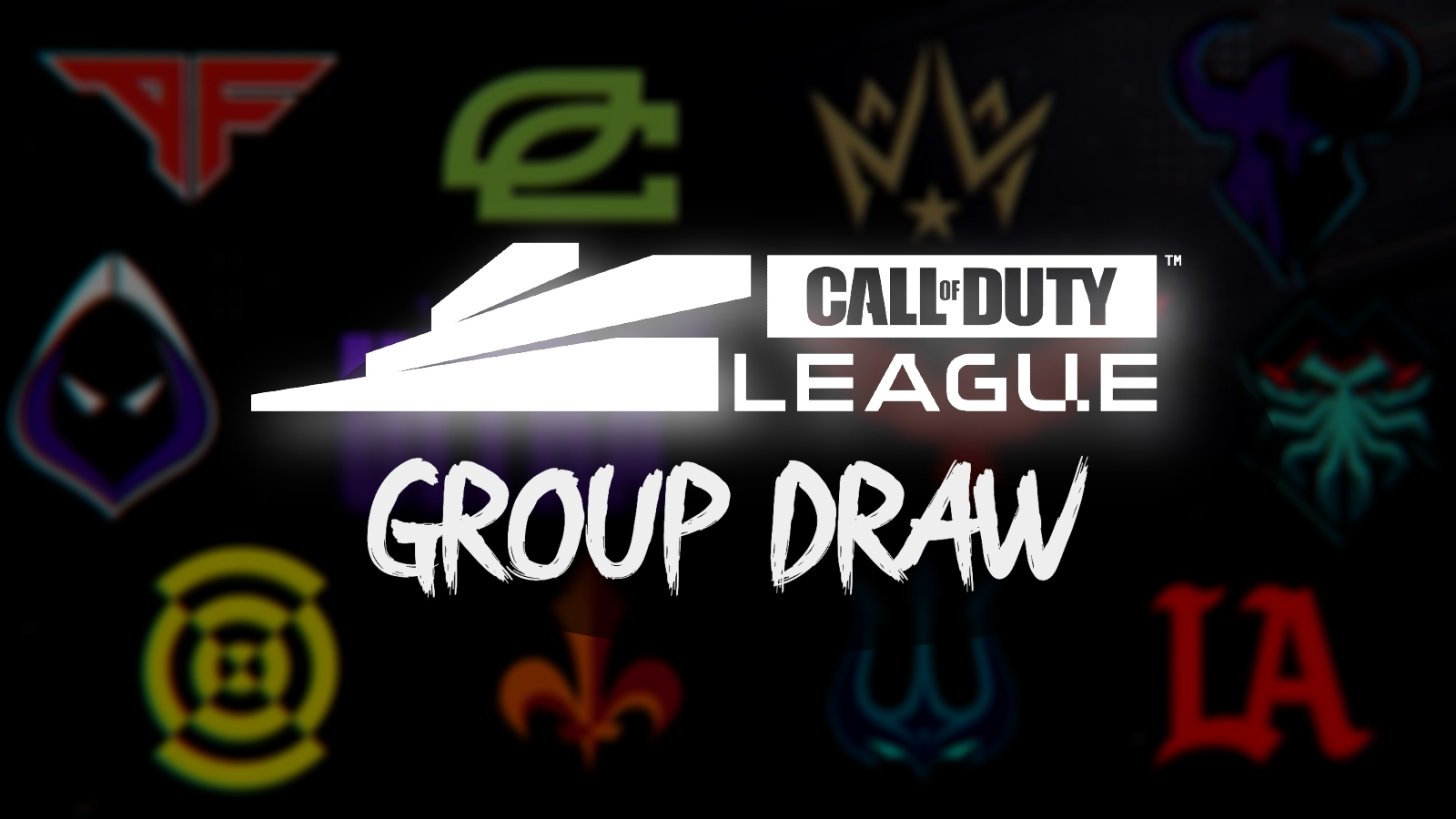 cod league group draw 2021