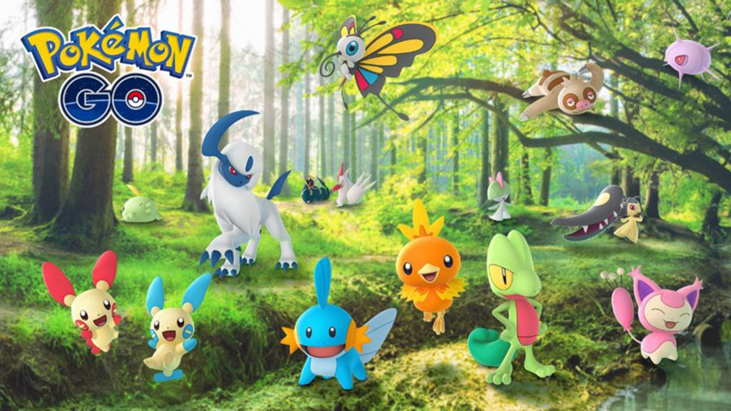 Pokemon Go Hoenn Collection Challenge Event