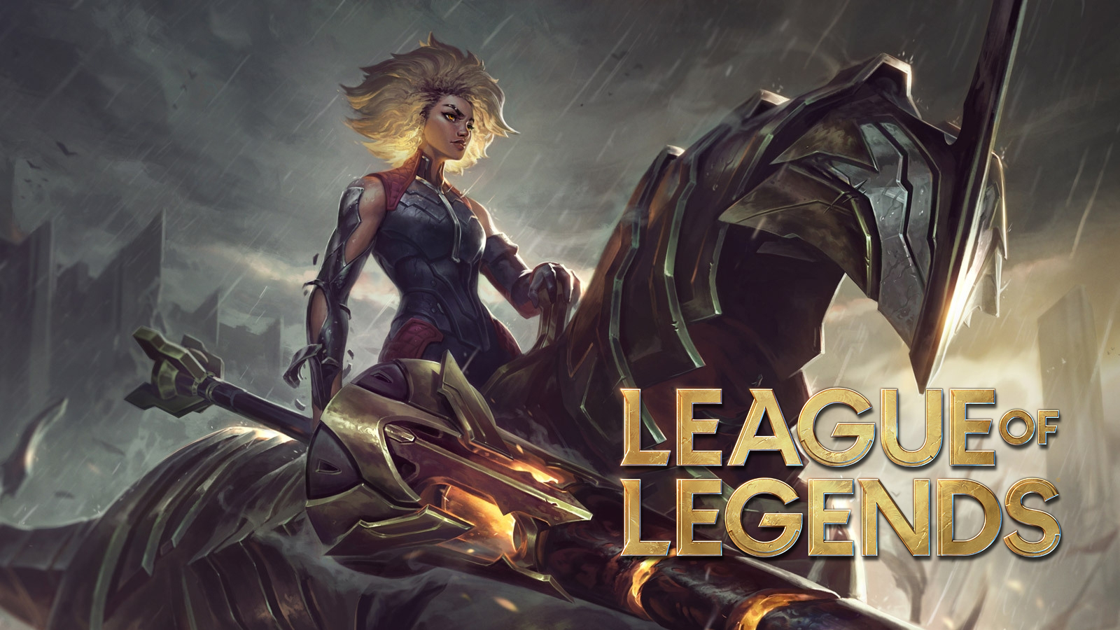 Rell in League of Legends