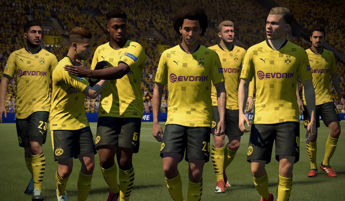 Borussia Dortmund players in FIFA 21
