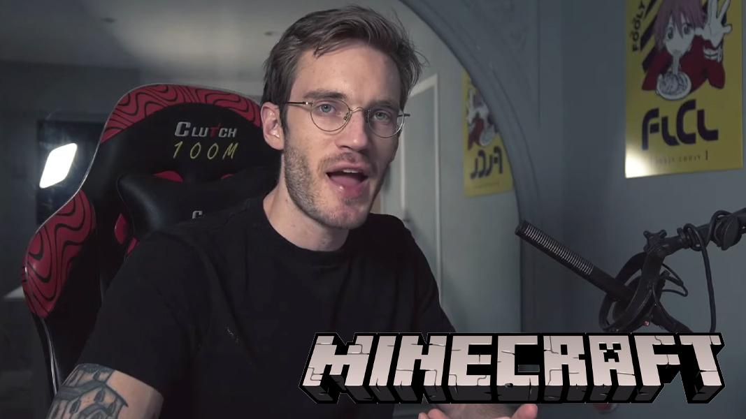 PewDiePie Minecraft YouTube