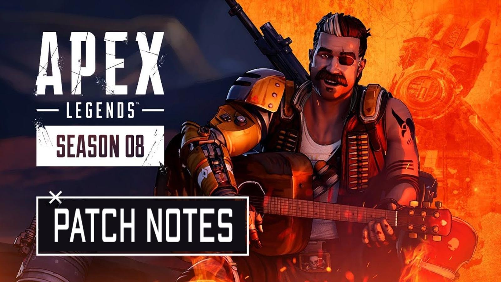 Apex Legends Season 8 Patch notes