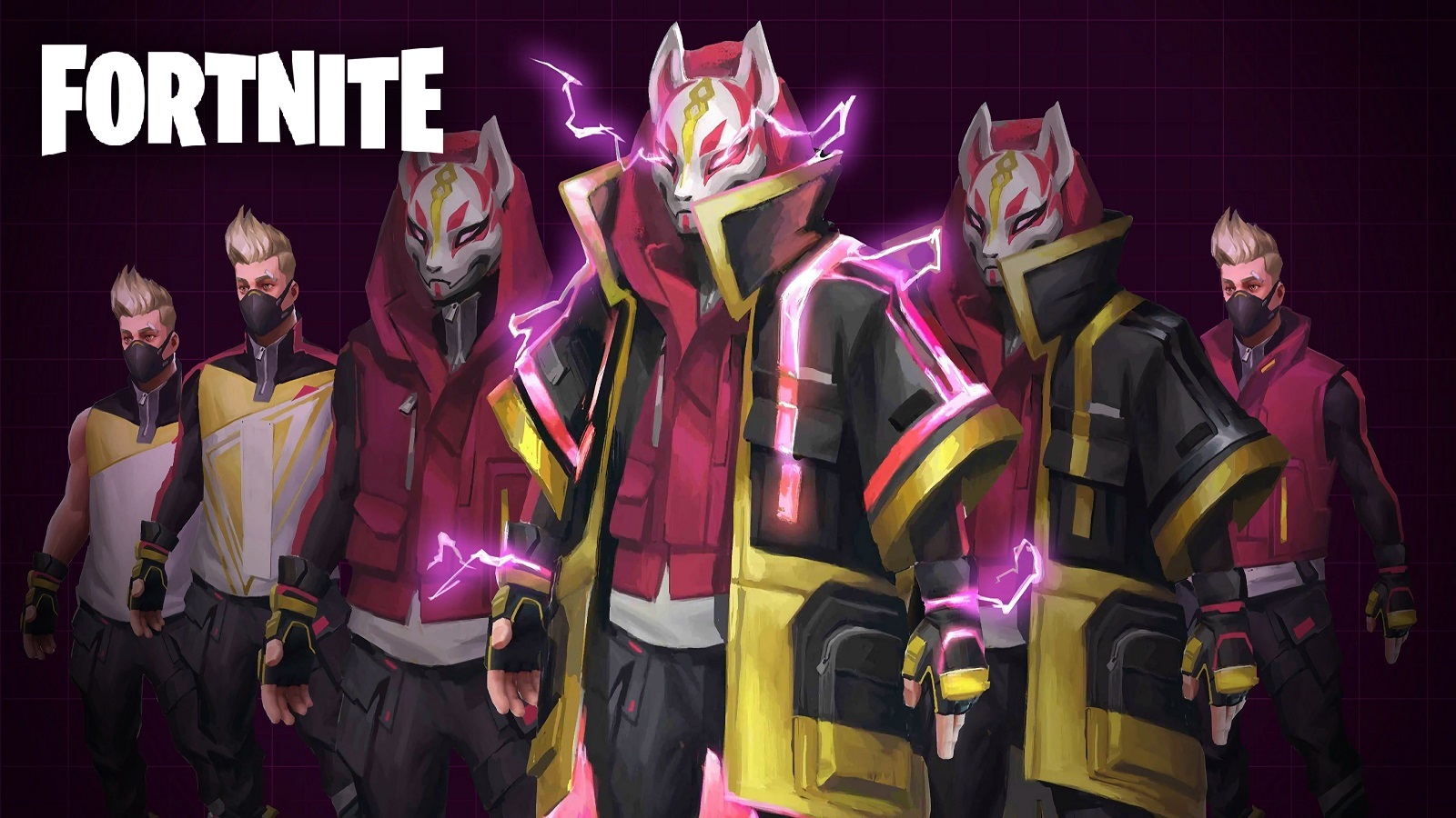 Fortnite Drift Loading Screen With Logo