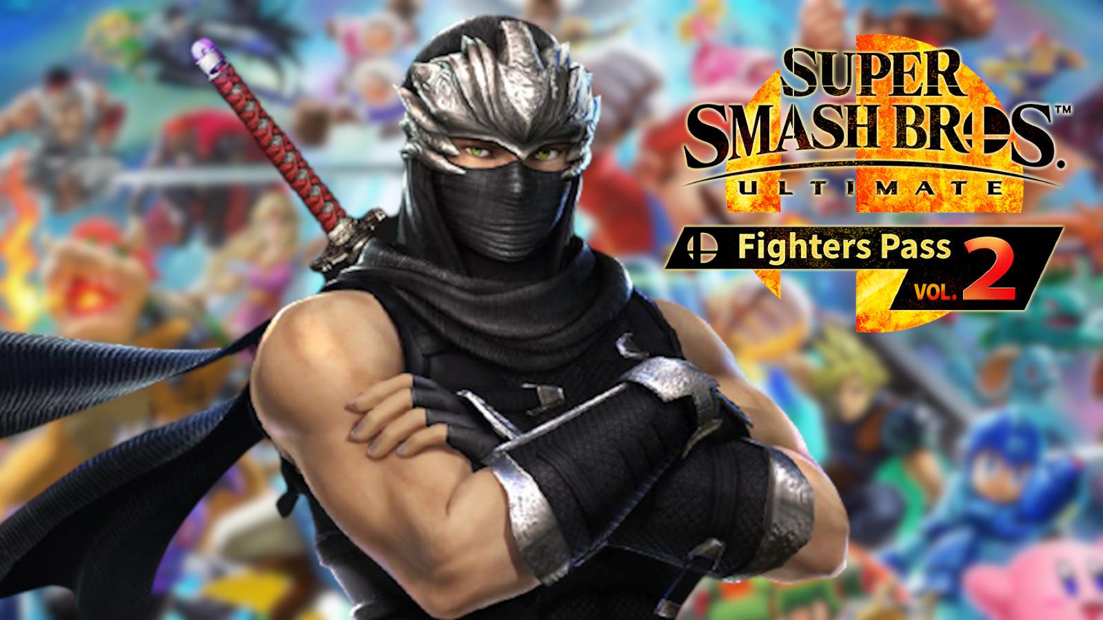 Ninja Gaiden's Ryu Hayabusa in Smash Ultimate