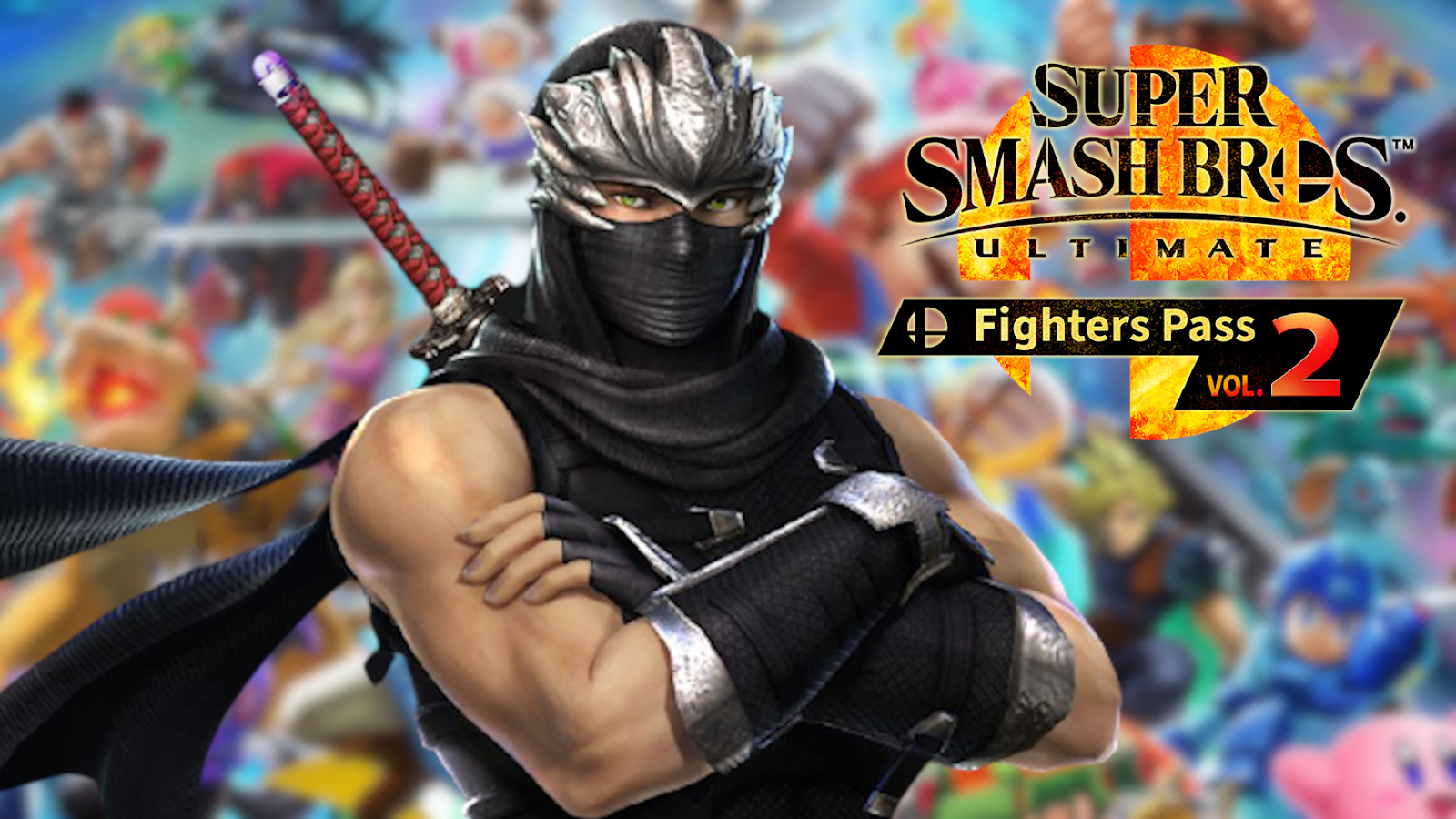 Ninja Gaiden's Ryu Hayabusa in Smash Ultimate