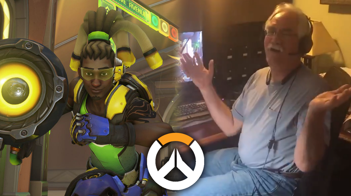 Overwatch Dad goes viral playing Lucio