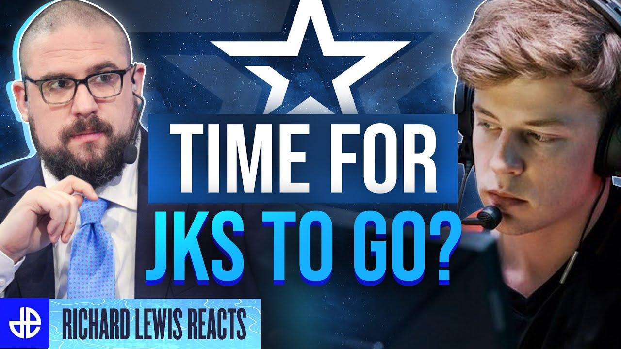 Time for JKS to go? Richard Lewis CSGO