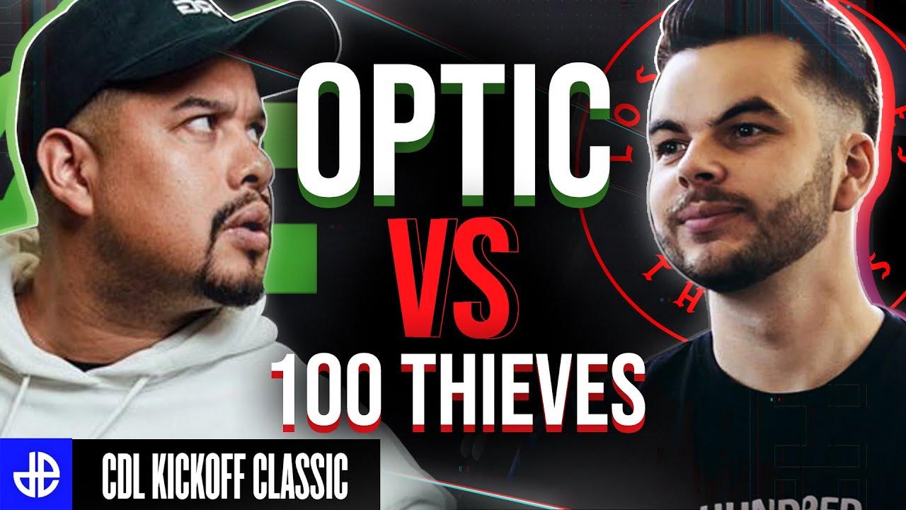 CSGO OpTic vs 100 Thieves at CDL