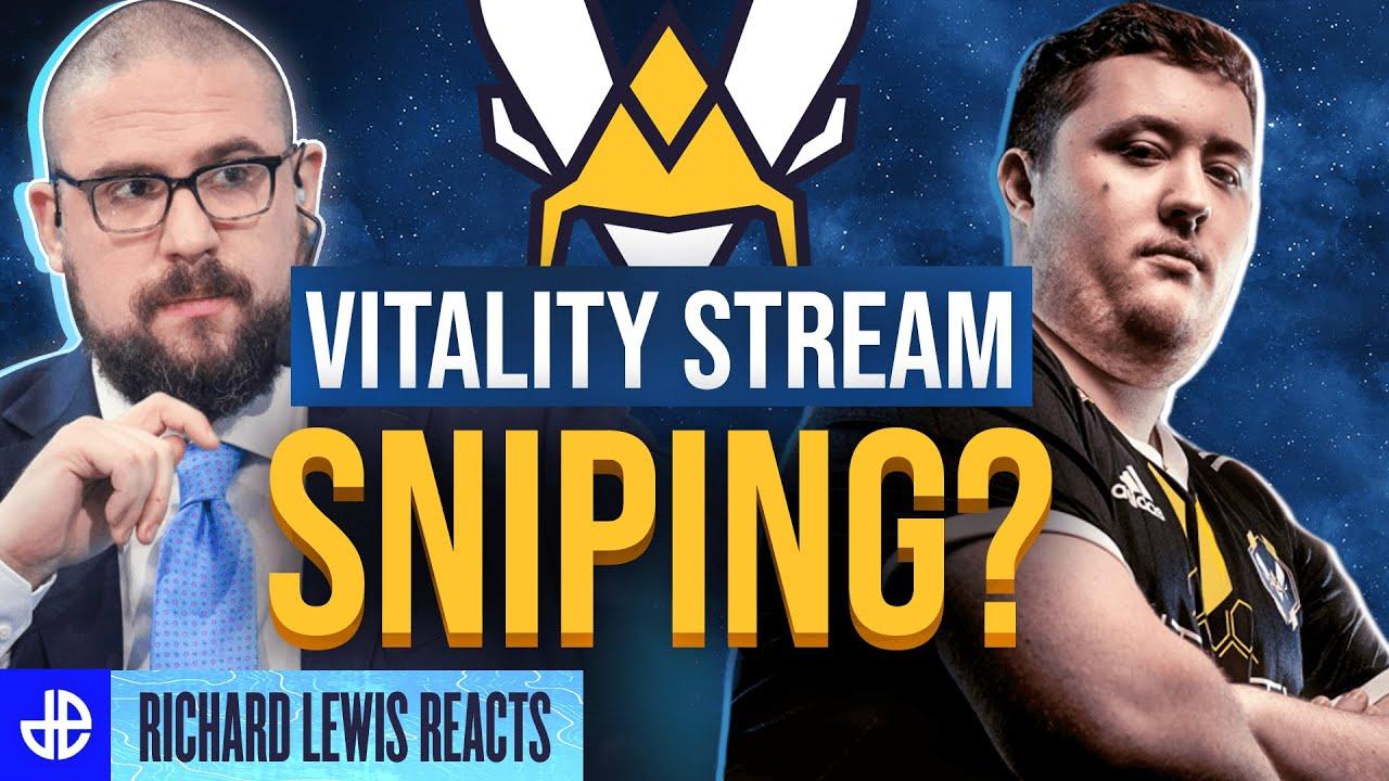 Richard Lewis Vitality stream sniping