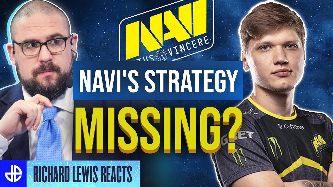 Richard Lewis NAVI's strategy CSGO