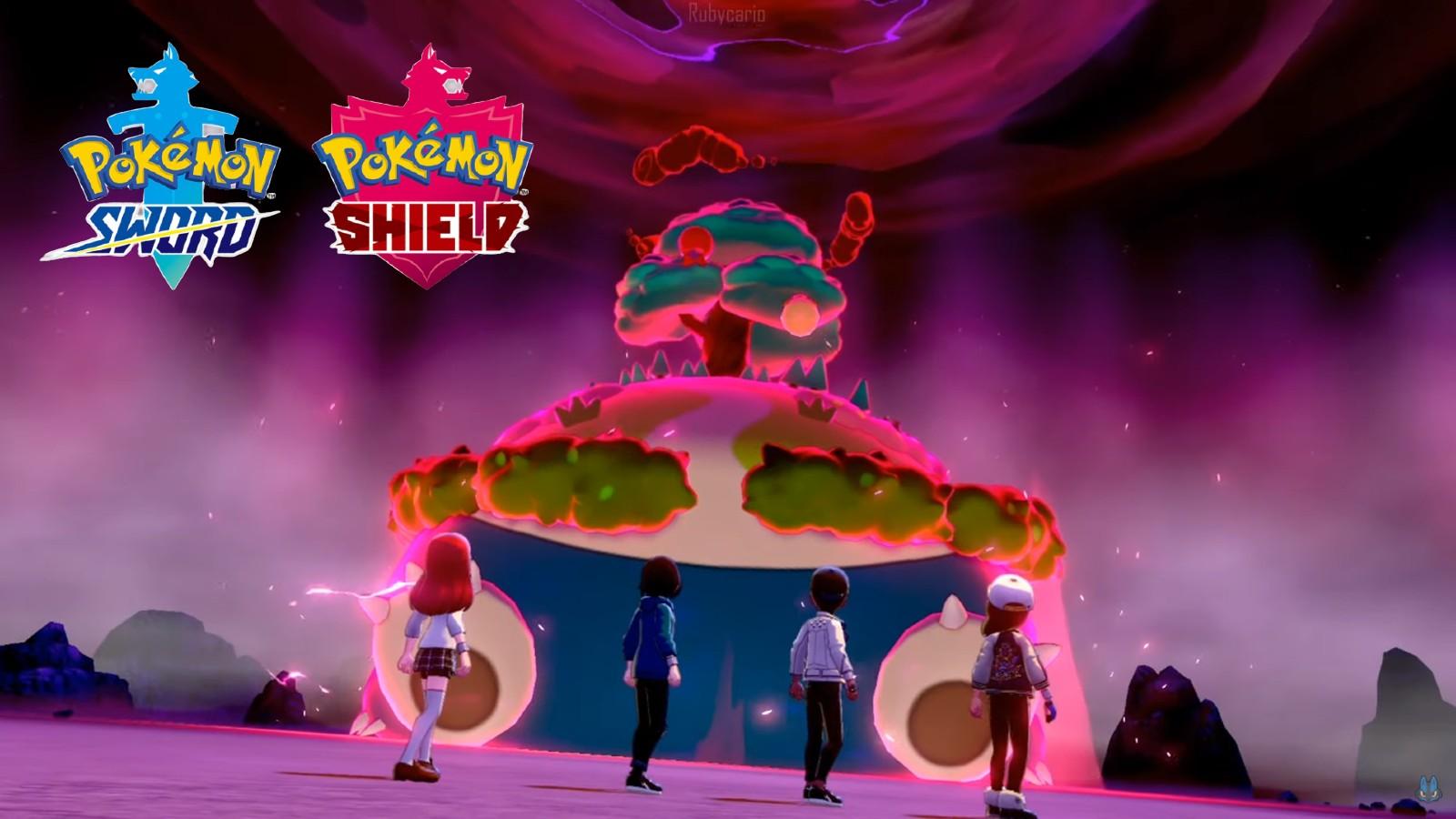Pokemon Sword and Shield raid battle