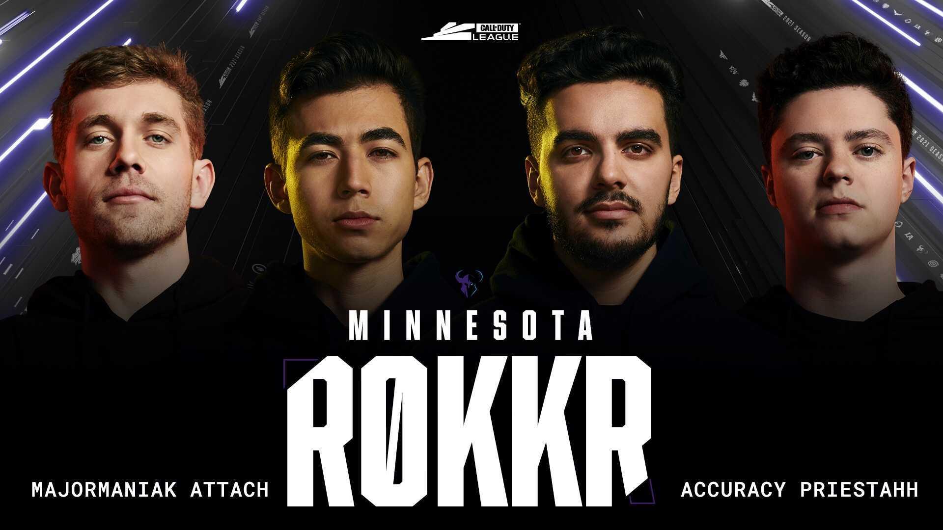 Minnesota ROKKR roster CDL 2021