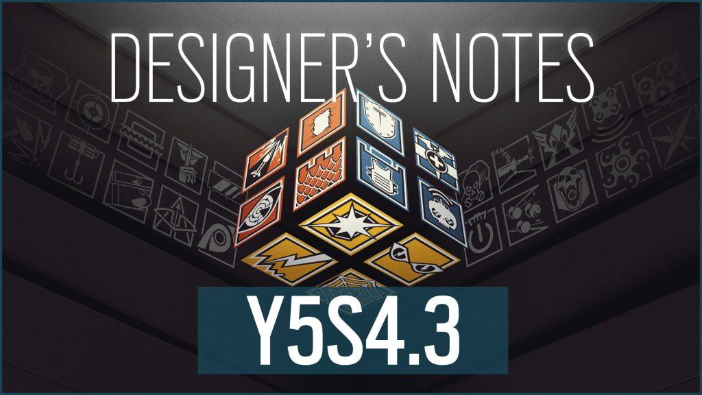 Rainbow Six: Siege Y5S4.3 Patch