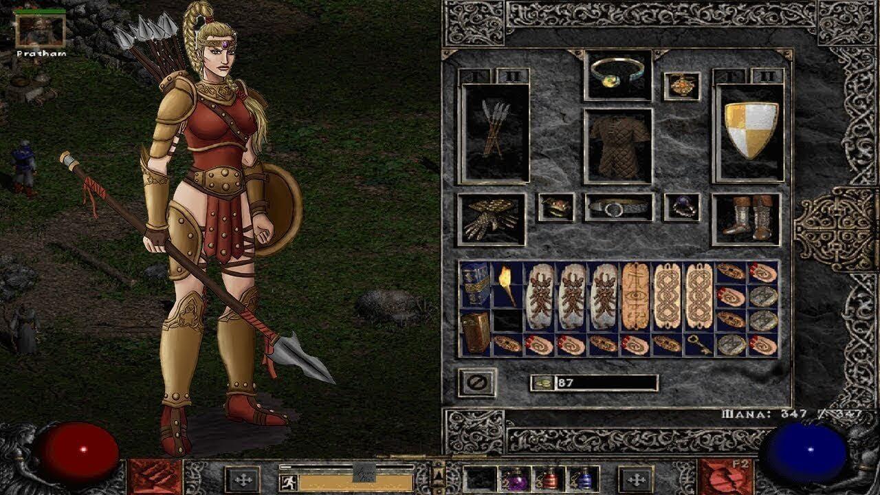 Diablo II Character Creation 2000