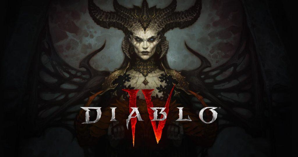 Diablo IV Cover Art Blizzard Entertainment 2021