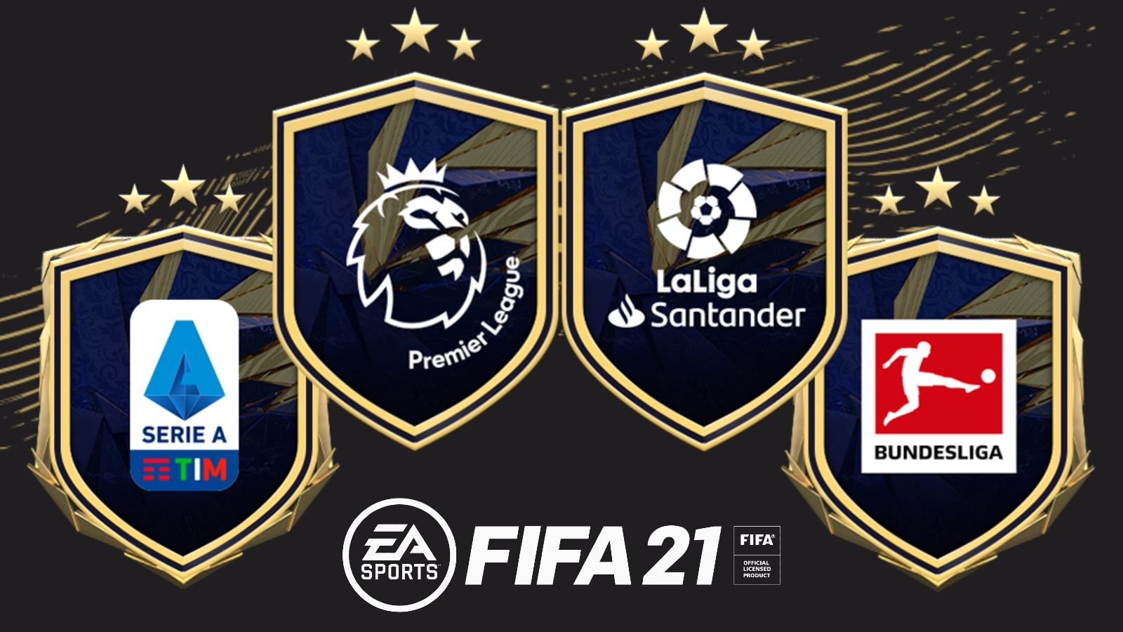 FIFA 21 premier league la liga bundesliga serie a upgrade sbc