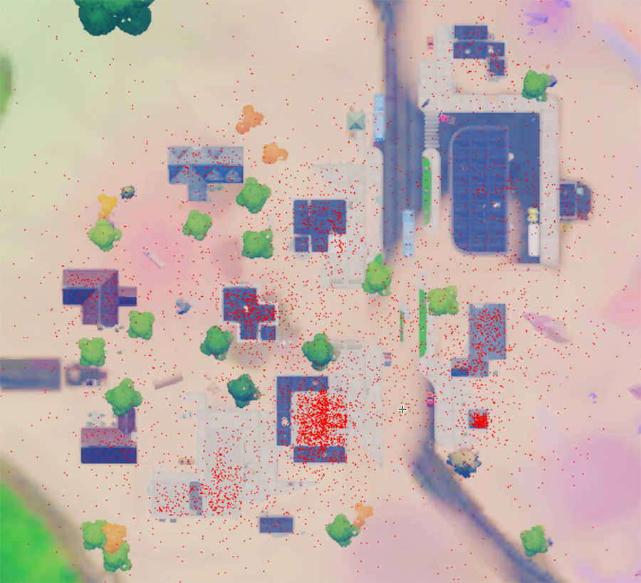 Fortnite Salty Towers death map