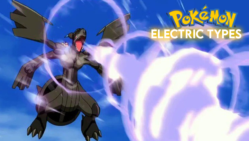 Best Electric Type Pokemon Zekrom