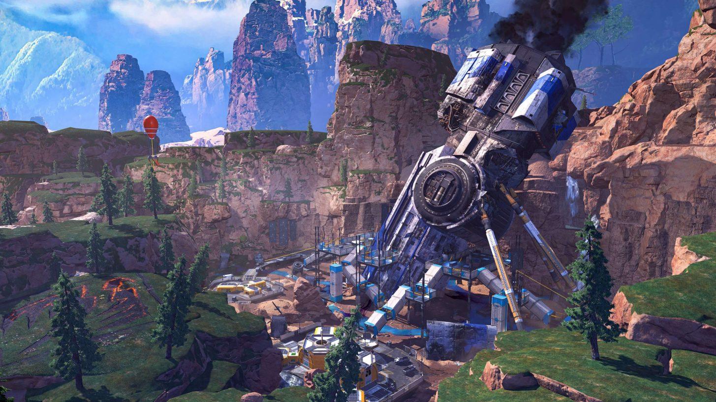 Crash Site in Apex Legends