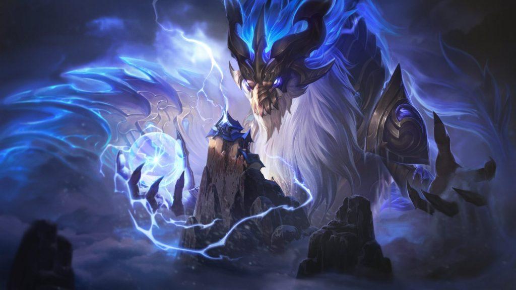 Storm Dragon Aurelion Sol in TFT