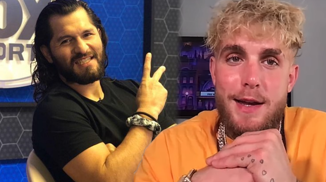 Jorge Masvidal with Jake Paul