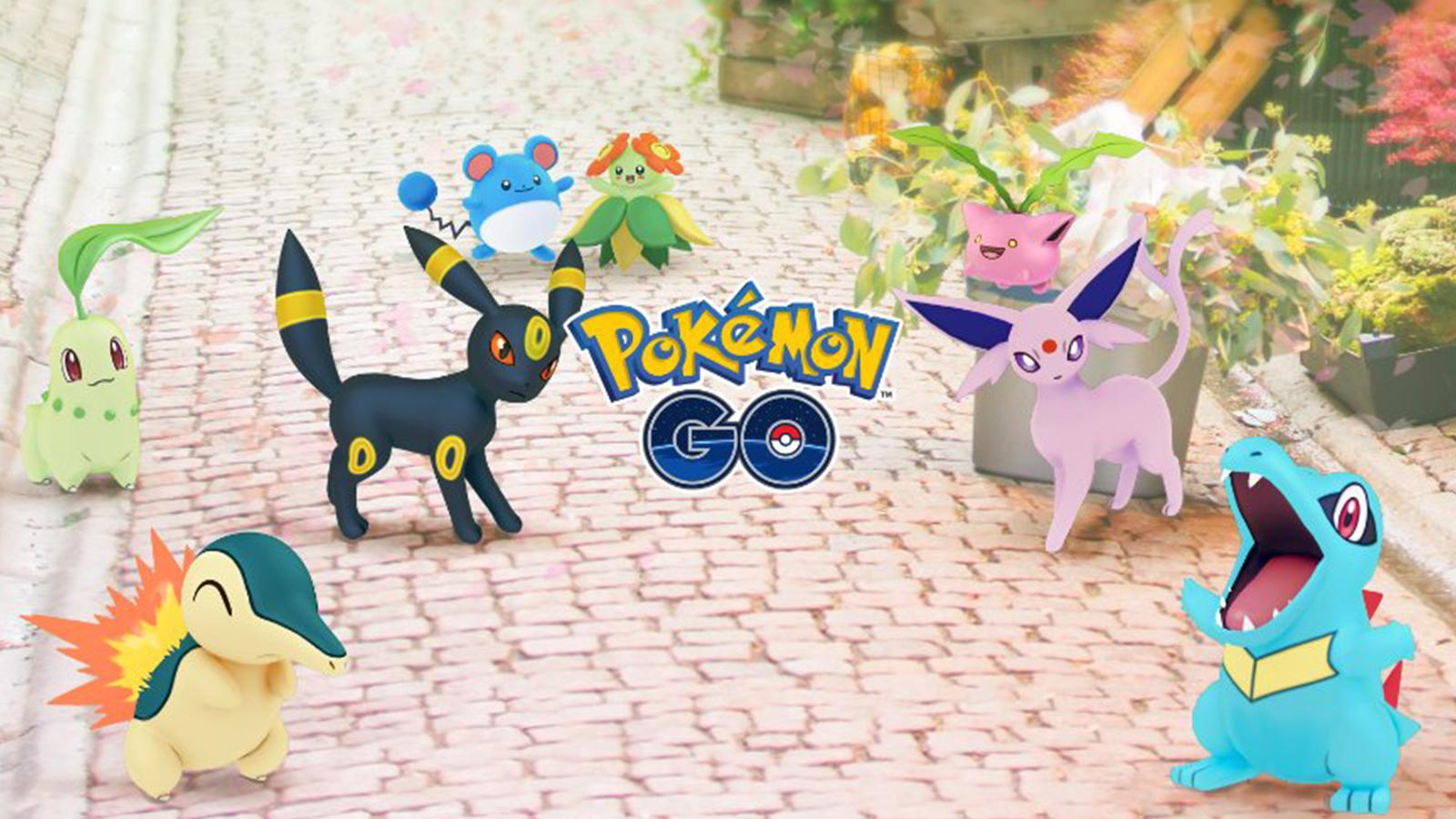 Pokemon Go Johto Collection Challenge