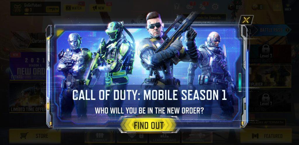 CoD Mobile Season 1 gameplay