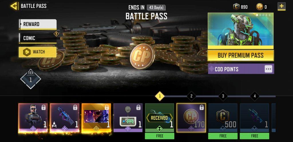 CoD Mobile Battle Pass