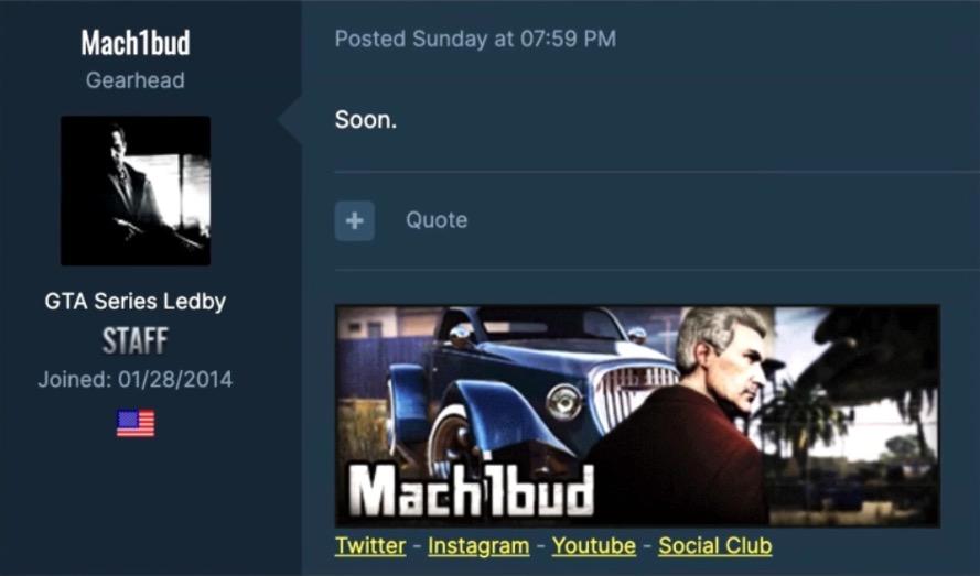 GTA Forums leak