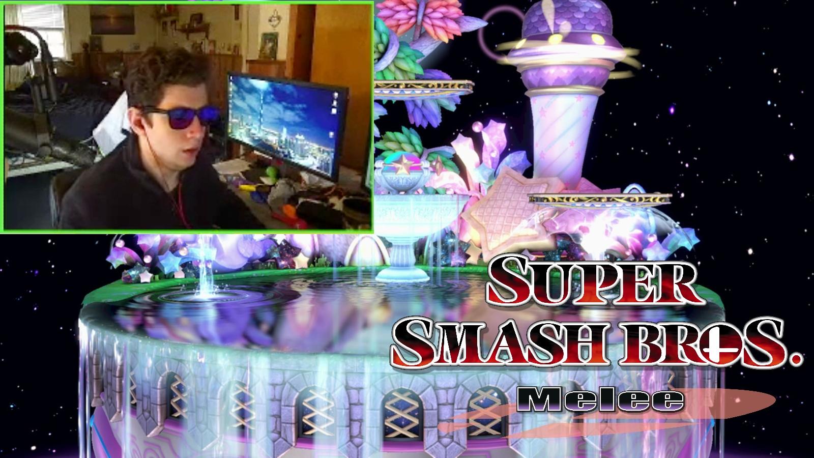 Smash Melee colorblind streamer