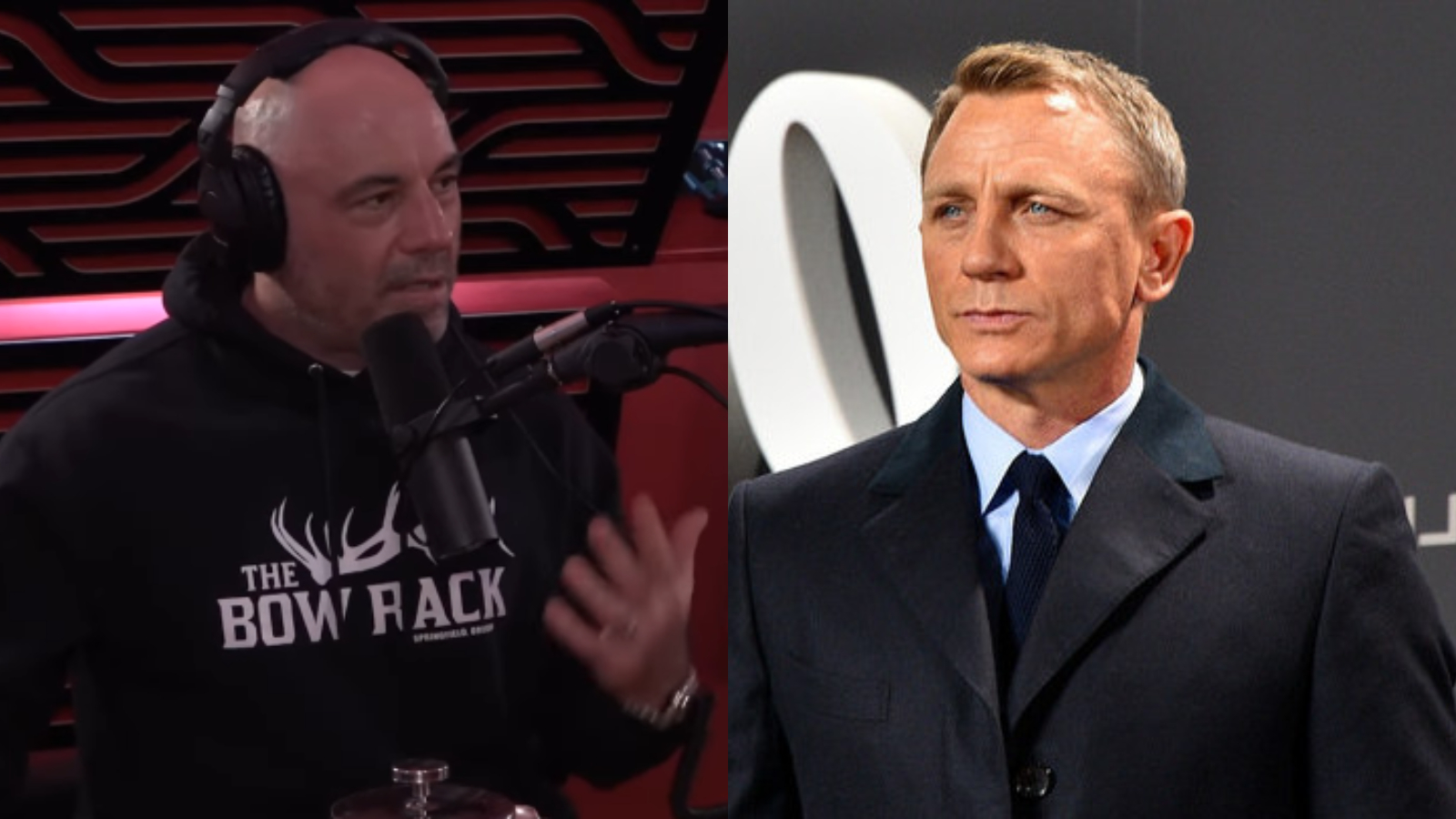 Joe Rogan says Daniel Craig is the best 007.