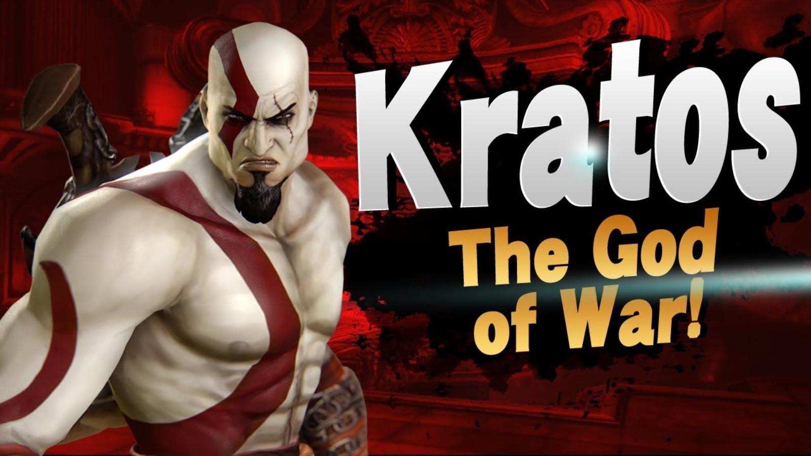 Smash Ultimate Kratos