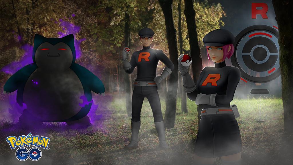 Team GO Rocket in Pokemon GO