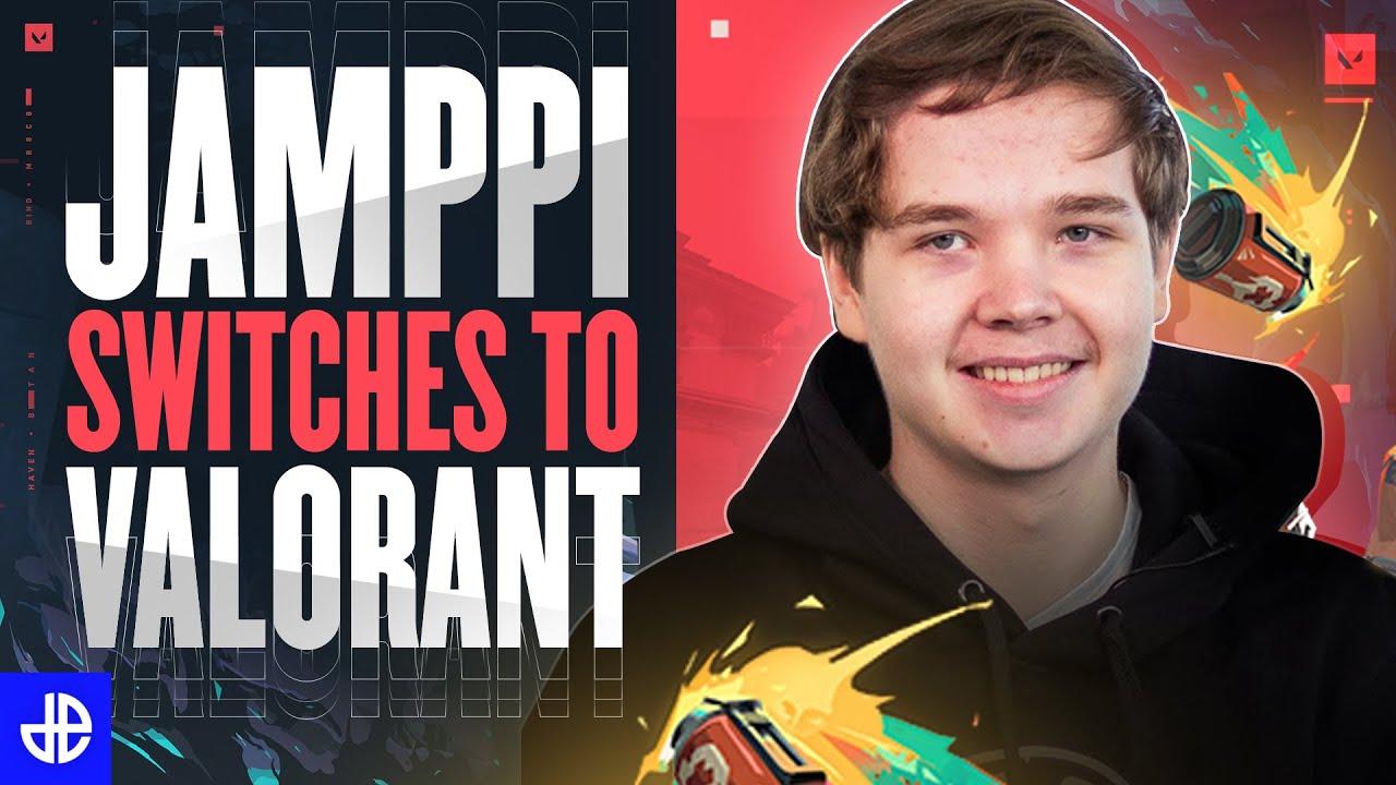 Esports Jamppi switches to Valorant from CSGO