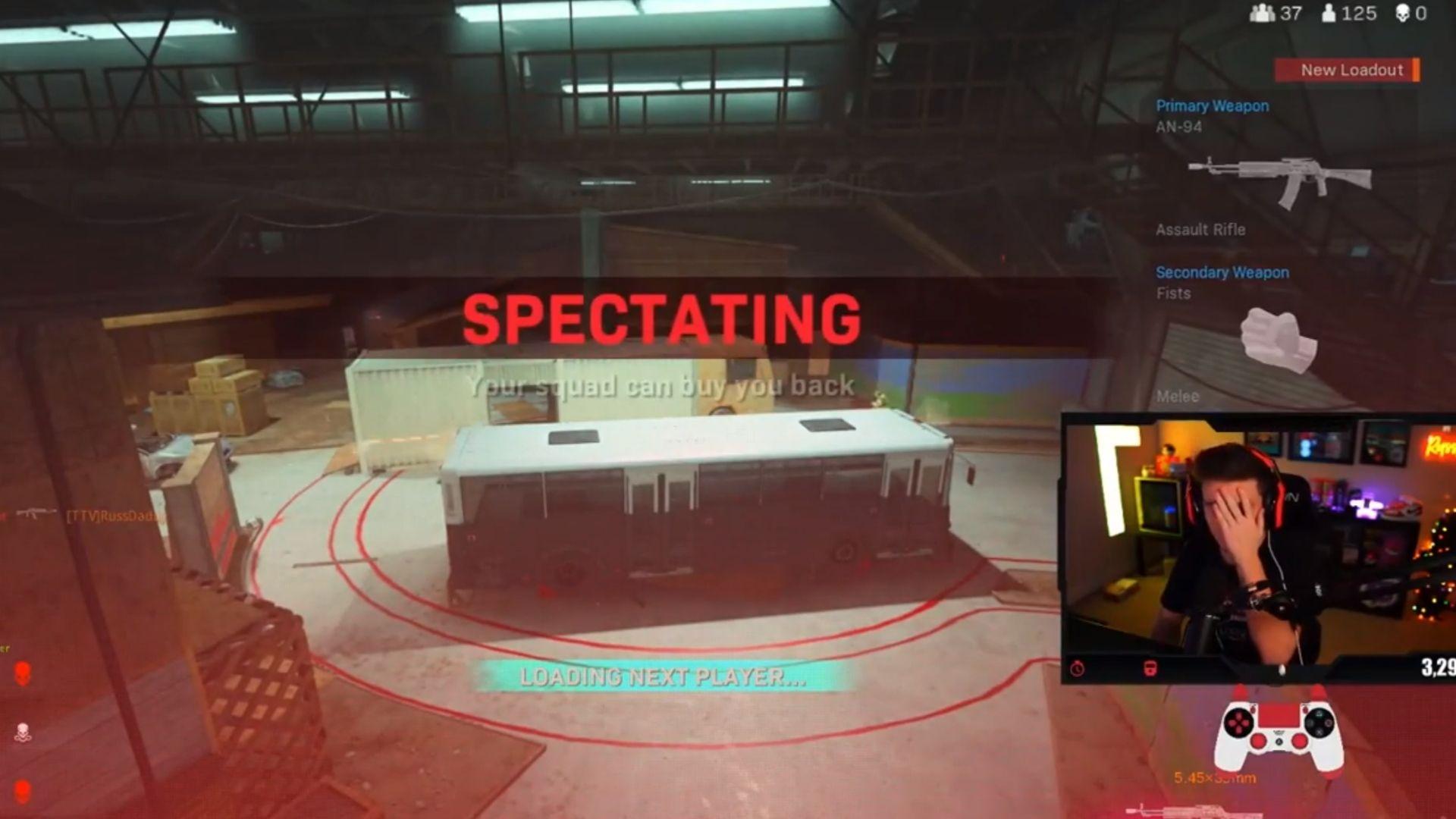 Warzone spectating