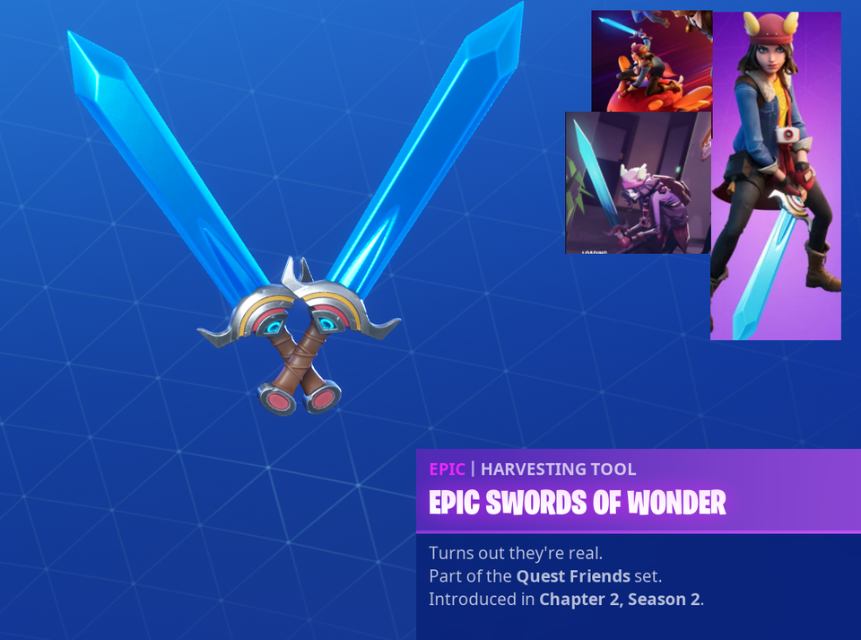 skye fortnite epic swords of wonder