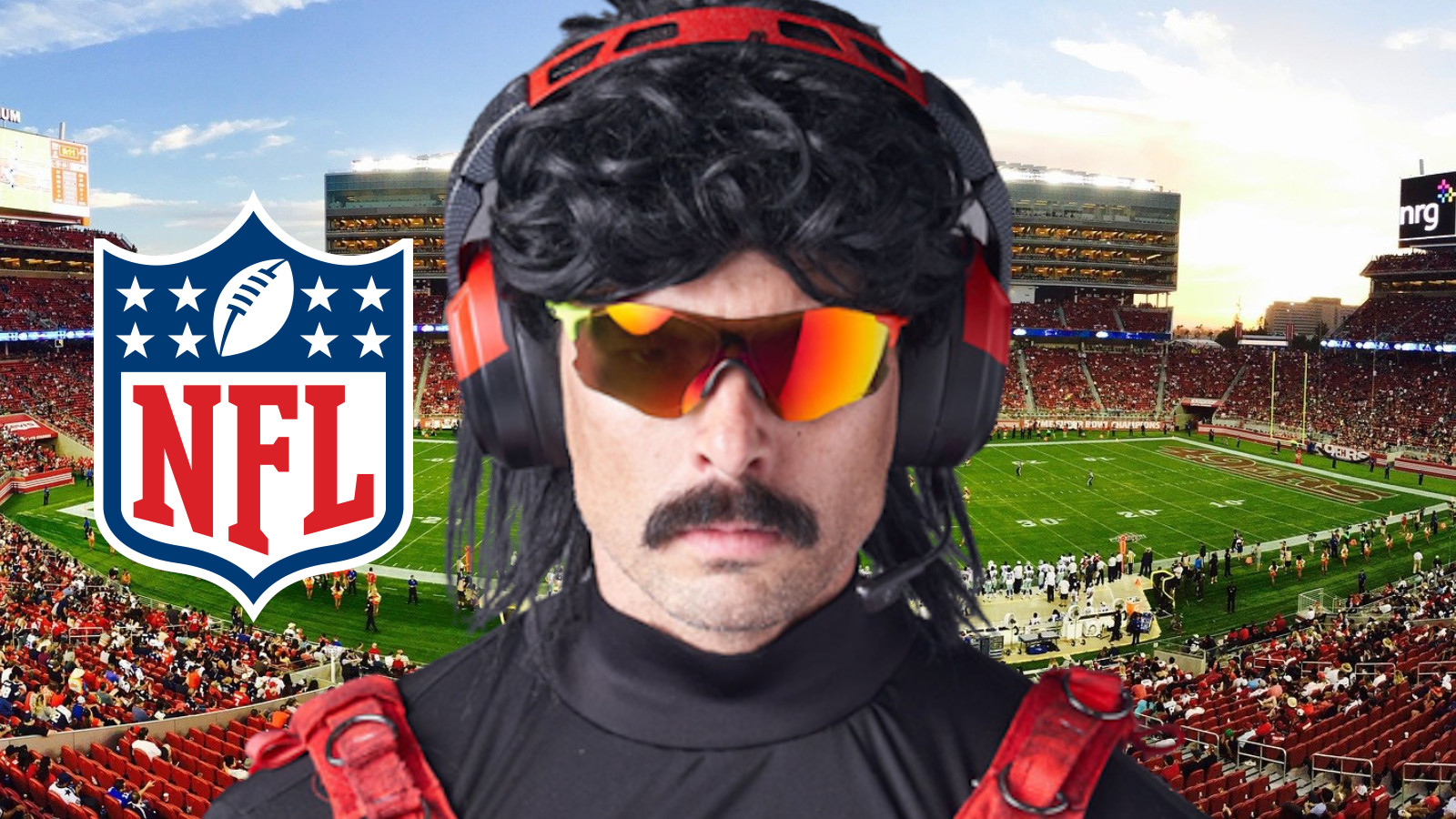 Dr Disrespect announces nfl charity stream