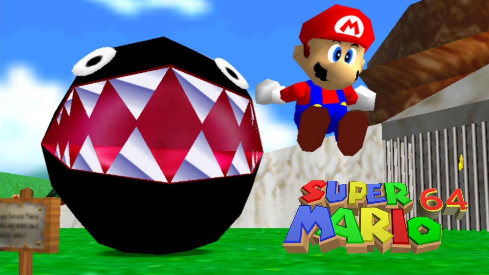 Super Mario 64 record