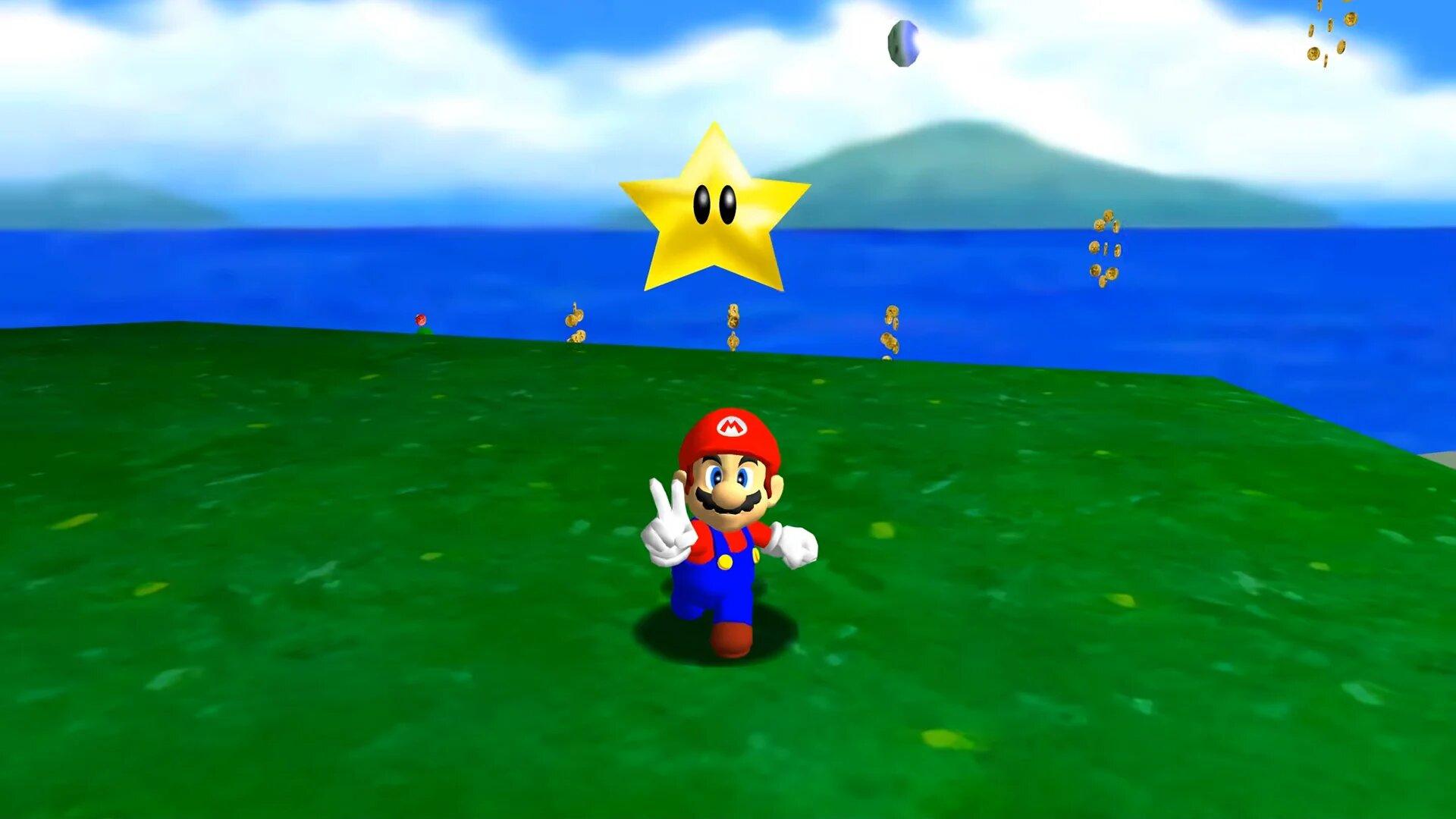 Super Mario 64 star Speedrun