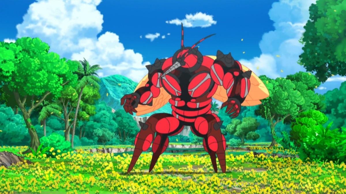 Buzzwole in the anime
