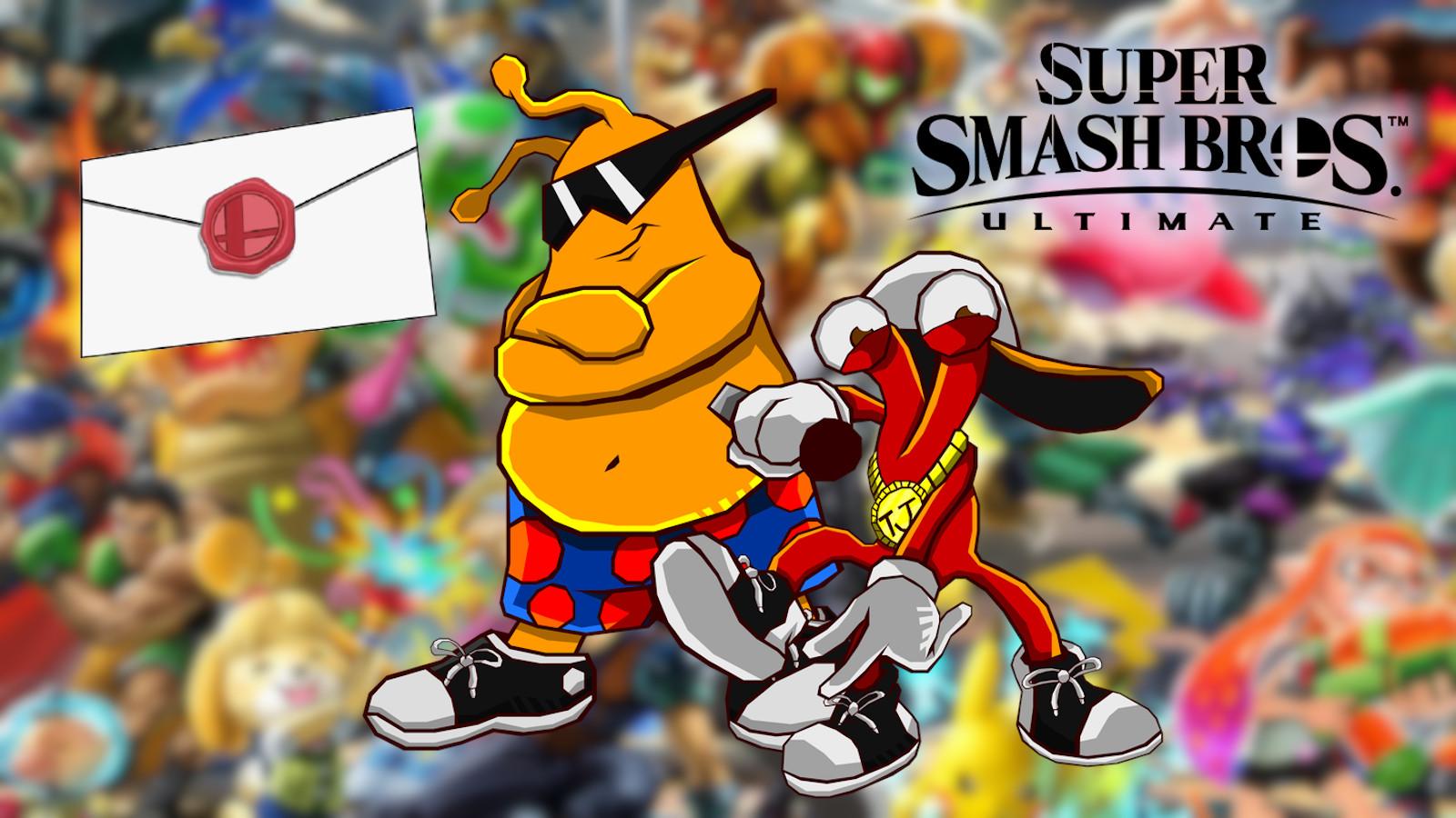 Toejam & Earl Smash Ultimate DLC invitation