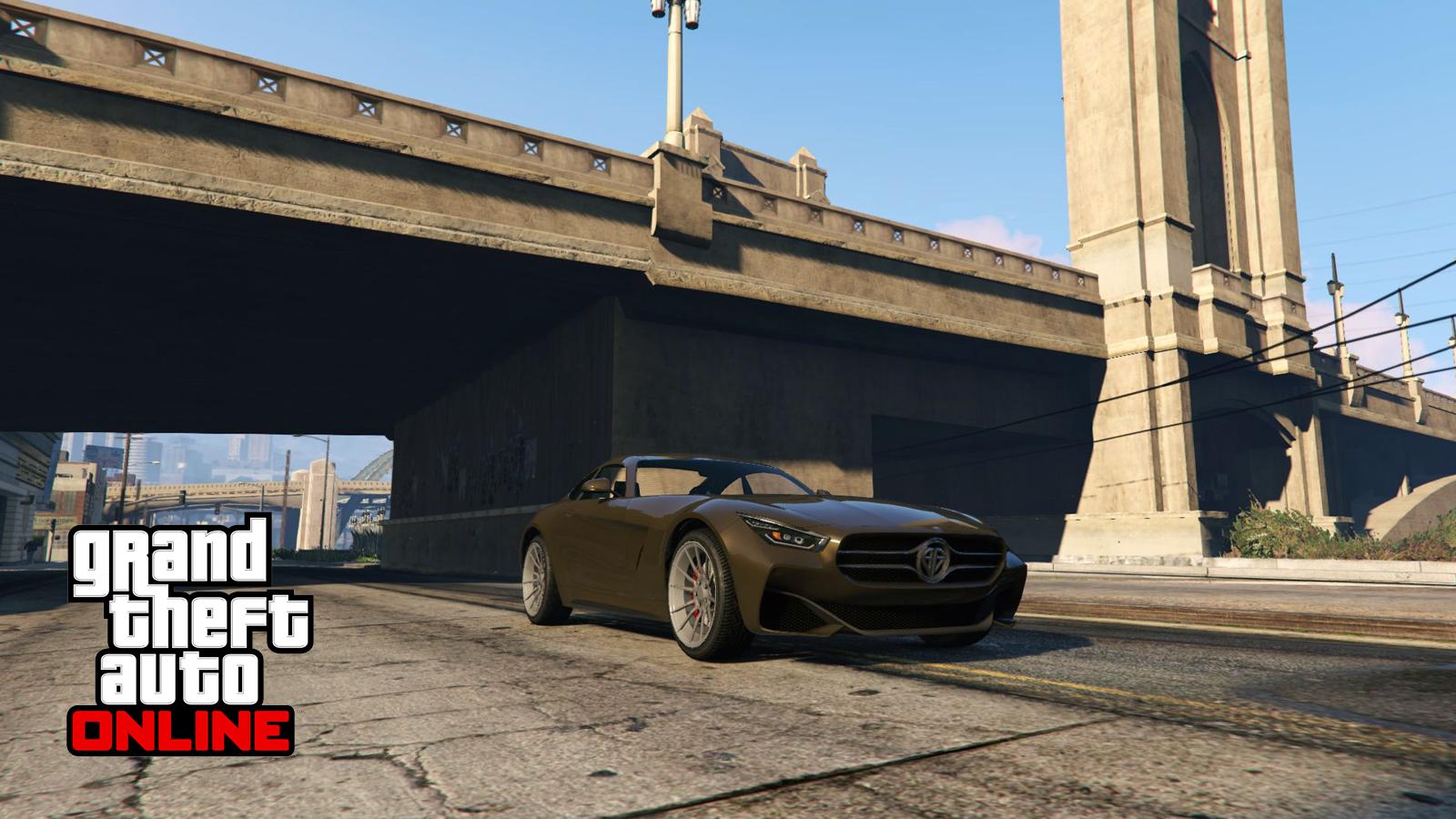 GTA Online Bridge Glitch