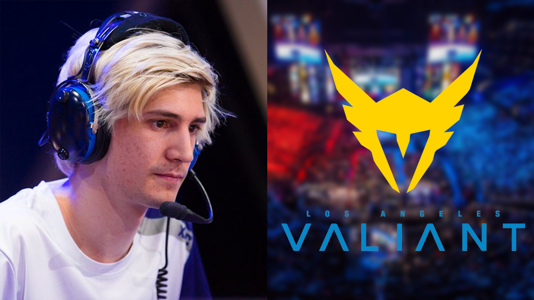 xQc Overwatch League LA Valiant logo