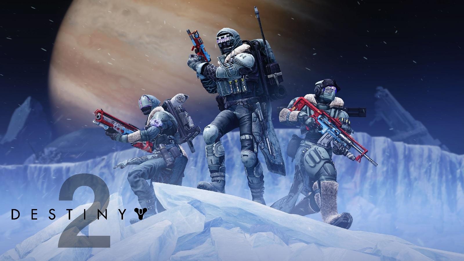 Destiny 2 Beyond Light Europa With Logo