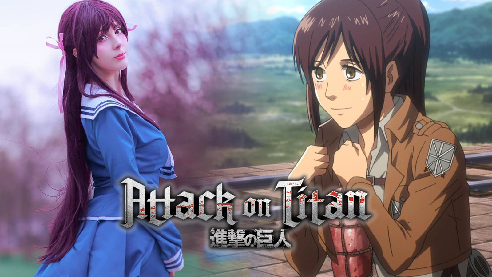 Attack on Titan Sasha Blouse cosplay