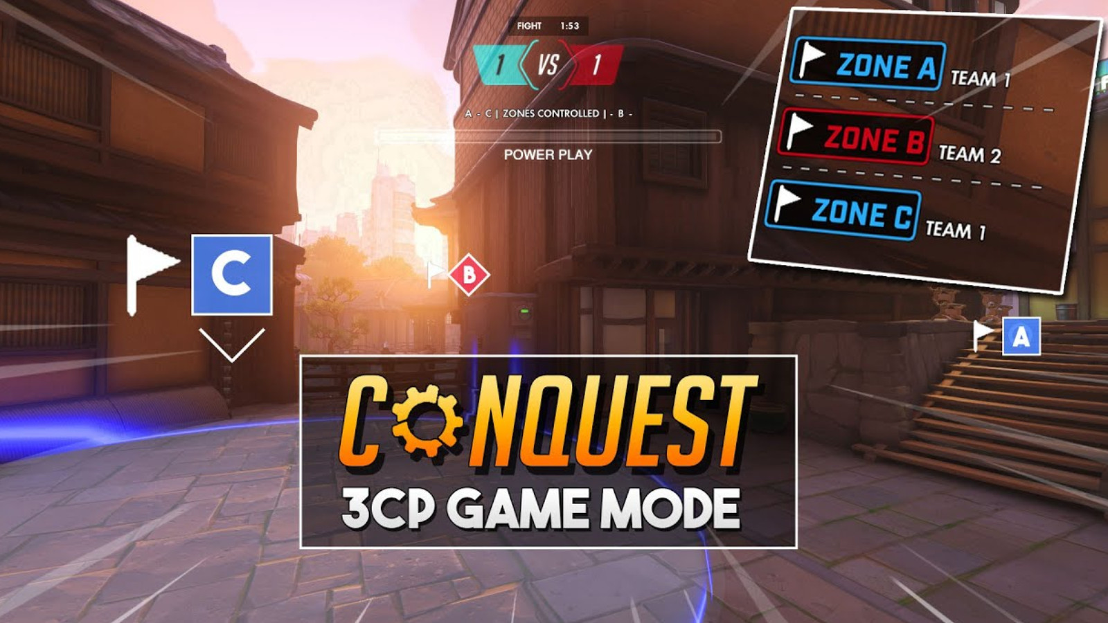 Overwatch conquest mode